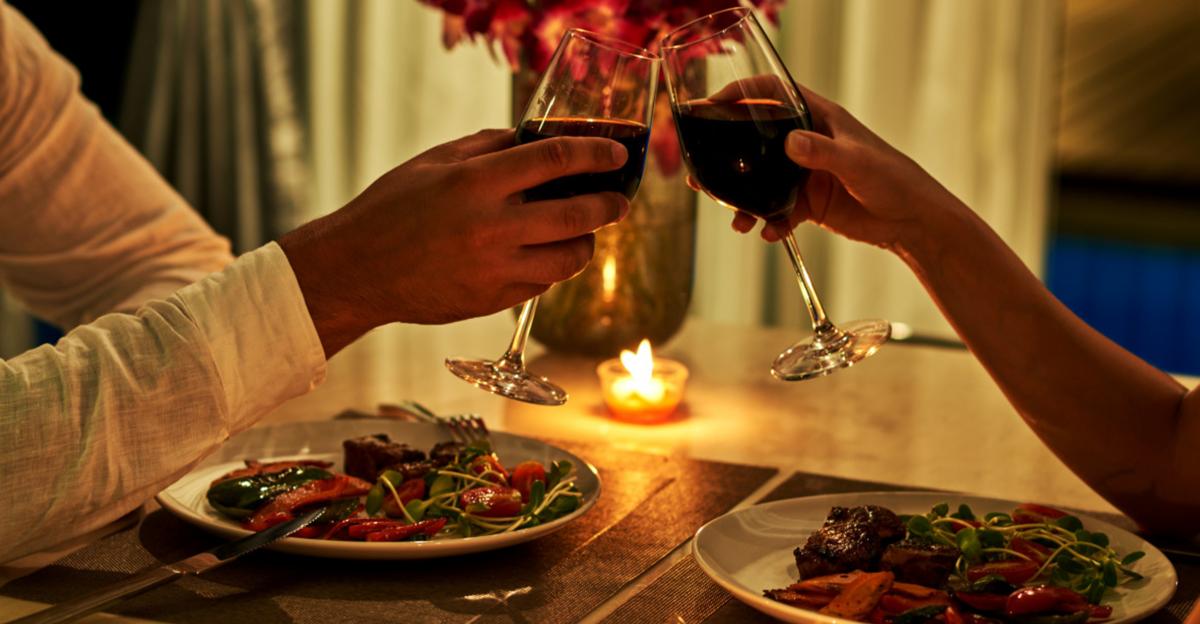 Романтический ужин в Лесной Поляне